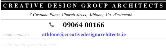 athlone Contact details : architects design