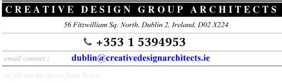 dublin Contact details : architects design