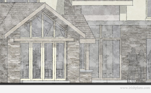 architects-plans-and-elevations-to-proposed-new-living-space-with-open-plan-layout-courtyard-and-exposed-king-truss-roofs-8 previously featured courtyard style house extension architects design