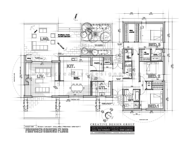 barn-style-dwelling-house-with-barrel-roof-curve-architects-sketch-design-layout-plan Featured House architects design